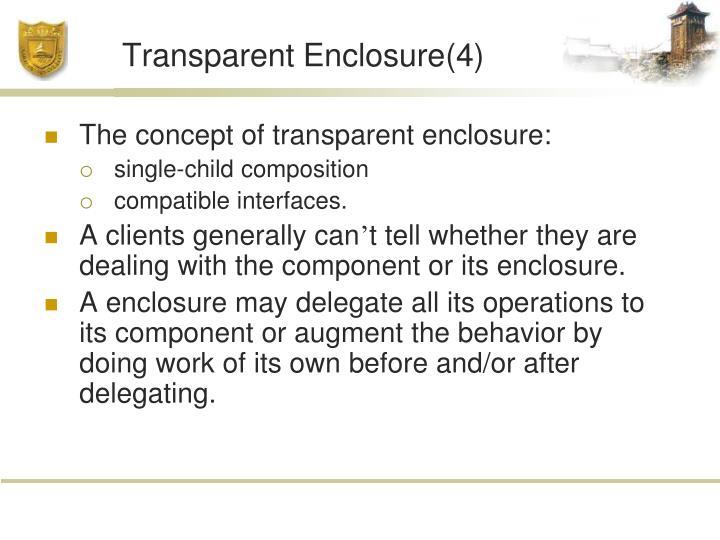 Transparent Enclosure(4)