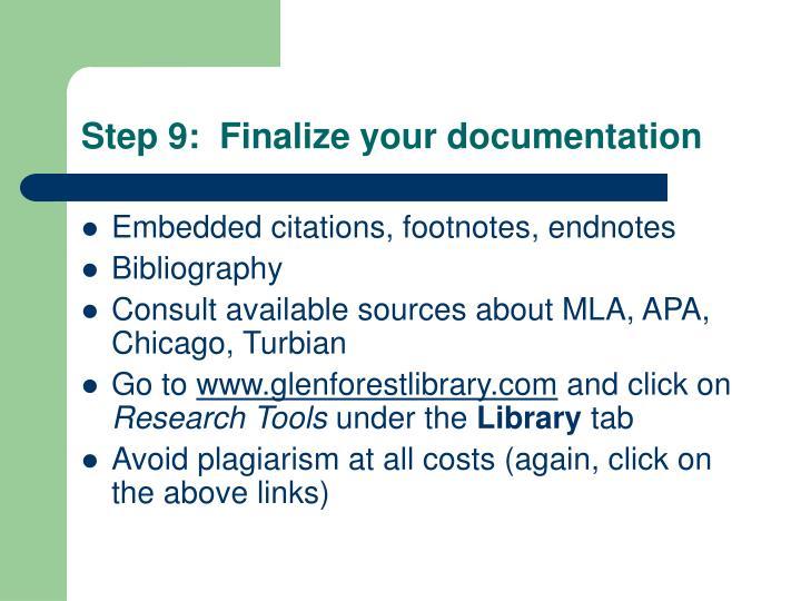 how to write a presentation report