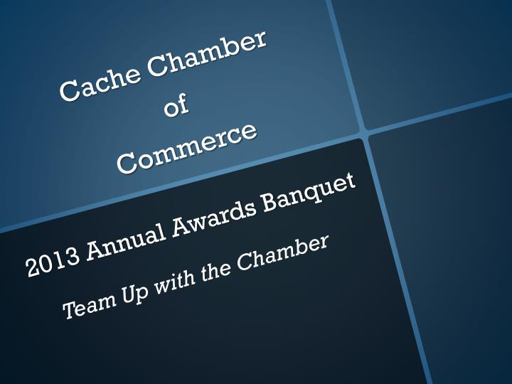 cache chamber of commerce n.