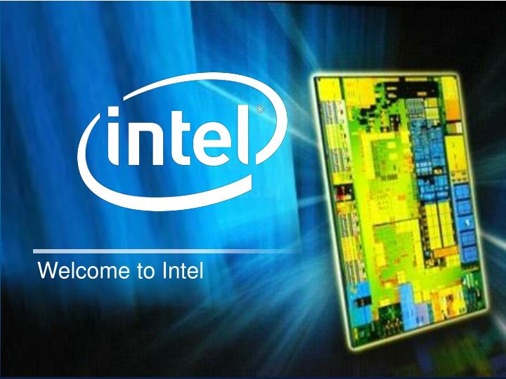 Welcome to Intel