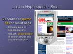 lost in hyperspace small1