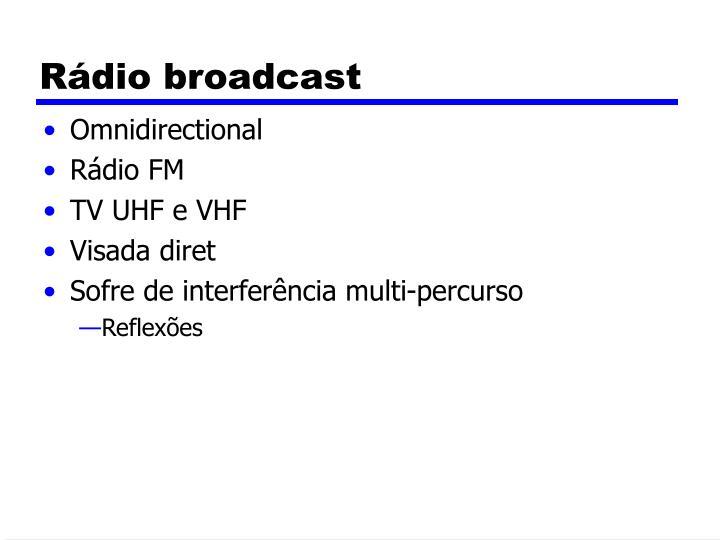 Rádio broadcast