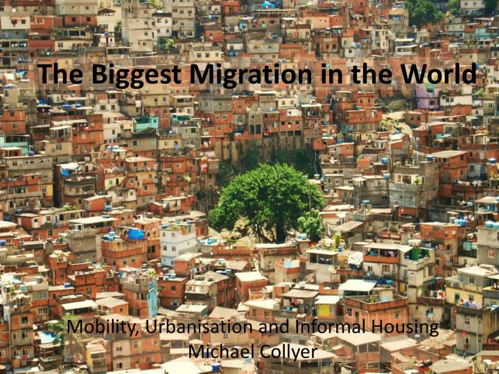 the biggest migration in the world n.