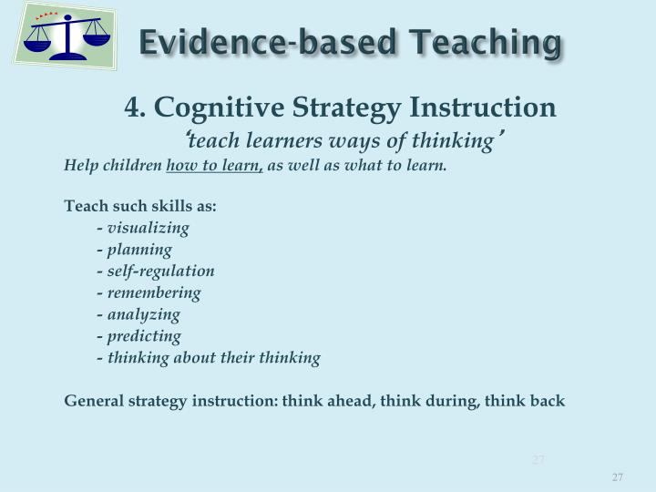 Ppt An Evidence Based Approach For Enhancing Learning 10 Key