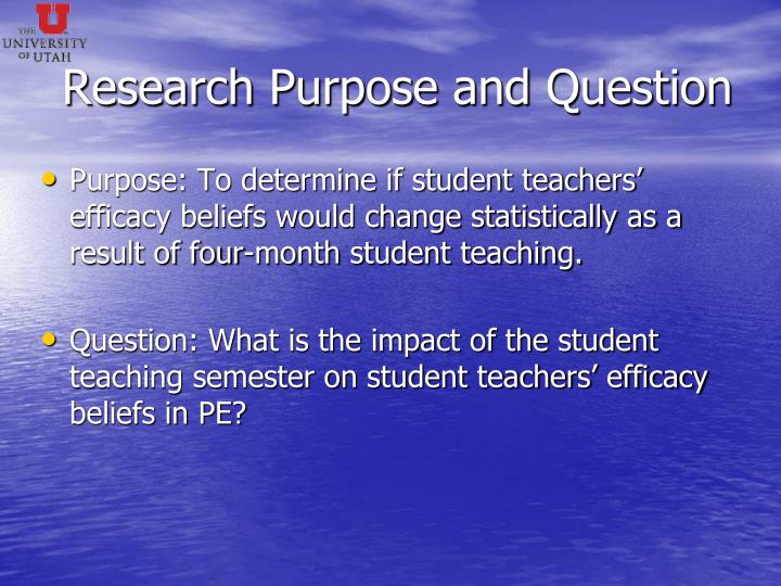 Research Purpose and Question