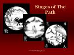 stages of the path
