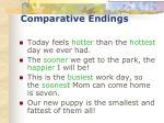 comparative endings32