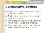 comparative endings37