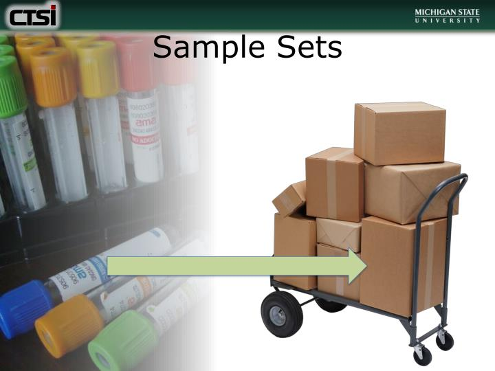 Sample Sets