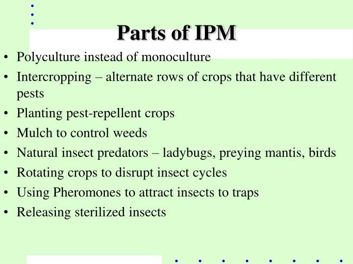 Parts of IPM