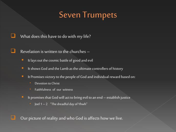 Seven trumpets