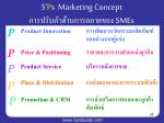 5 p s marketing concept smes