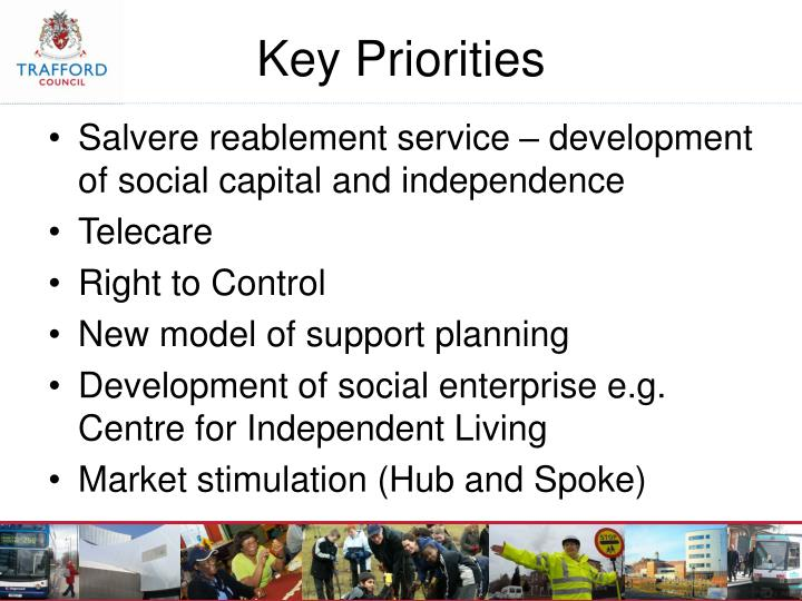 Salvere reablement service – development of social capital and independence