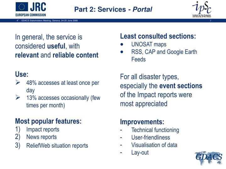Part 2: Services