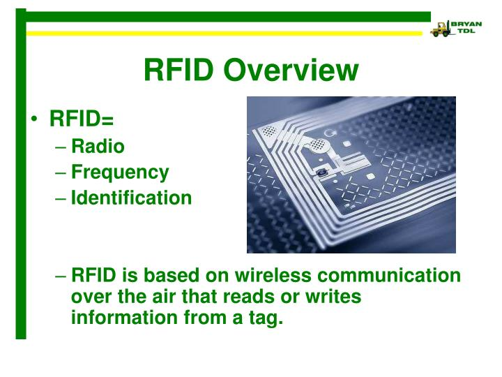 an overview of radio frequency identification rfid technology and how it works Rfid, or radio frequency identification, has become an integral part of our day-to-day lives lyndacom message: sign up for your 10-day free trial at http.