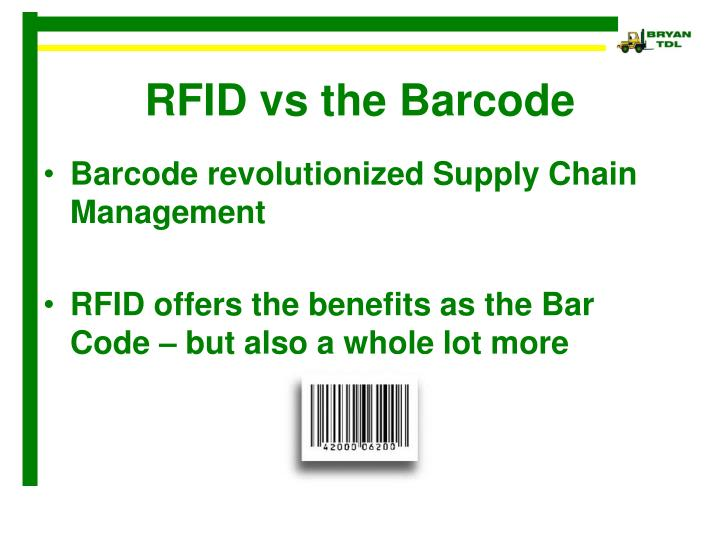 rfid v barcode a cost Rfid, barcodes and qr codes all have their place for different purposes under different circumstances as with most technology, the cost to acquire and use continues to drop with each passing year all 3 of these data management systems have also become much easier to implement with the growth of tablets and smartphones.