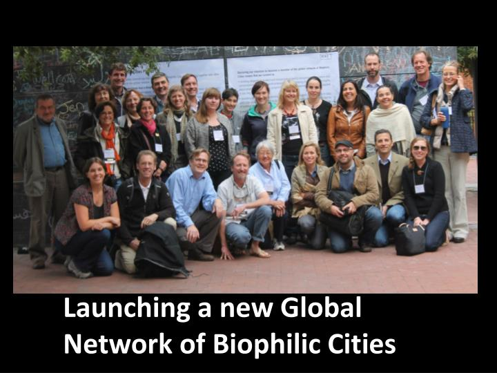 Launching a new Global Network of
