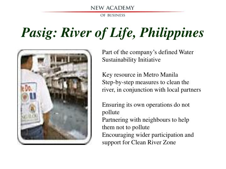 Pasig: River of Life, Philippines