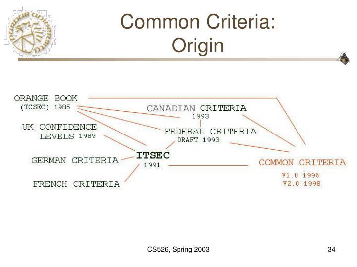 Common Criteria: