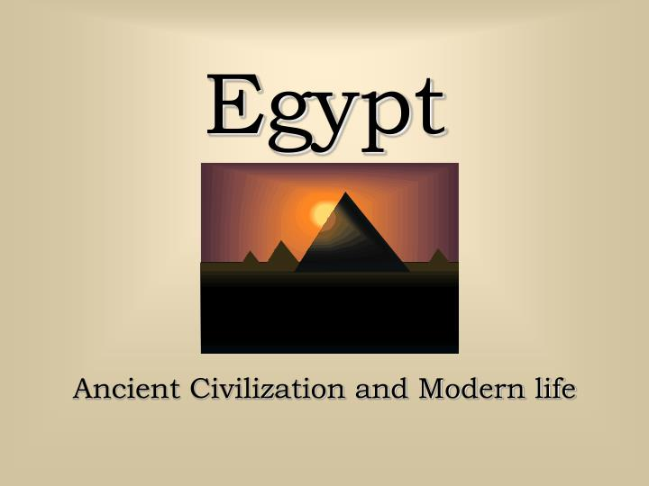 an overview of the history and civilization of ancient egypt