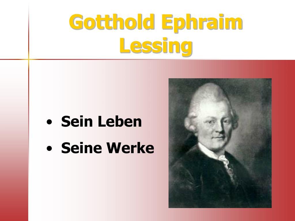 Gotthold Ephraim Lessing Wikipedia 13