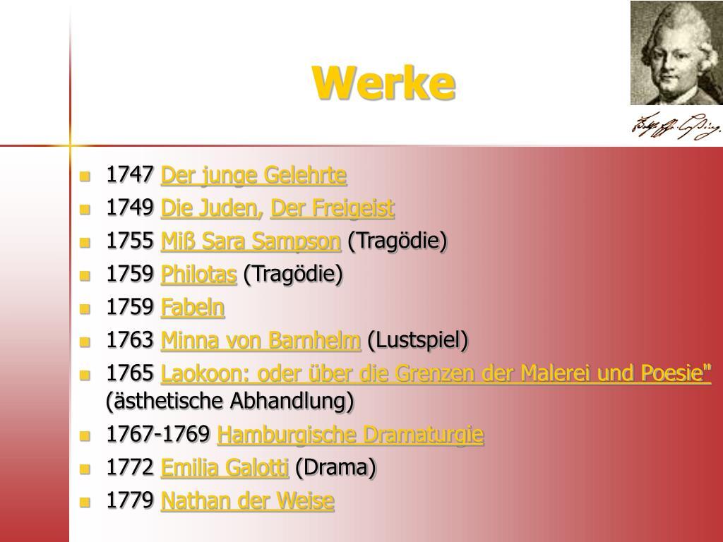 Lebenslauf Gotthold Ephraim Lessing Wikipedia