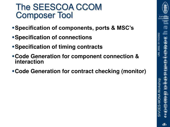The SEESCOA CCOM