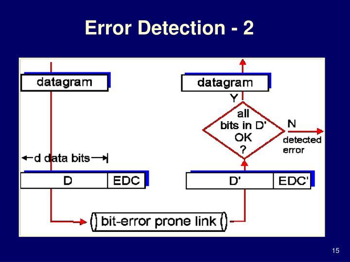Error Detection - 2