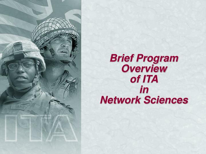 Brief Program