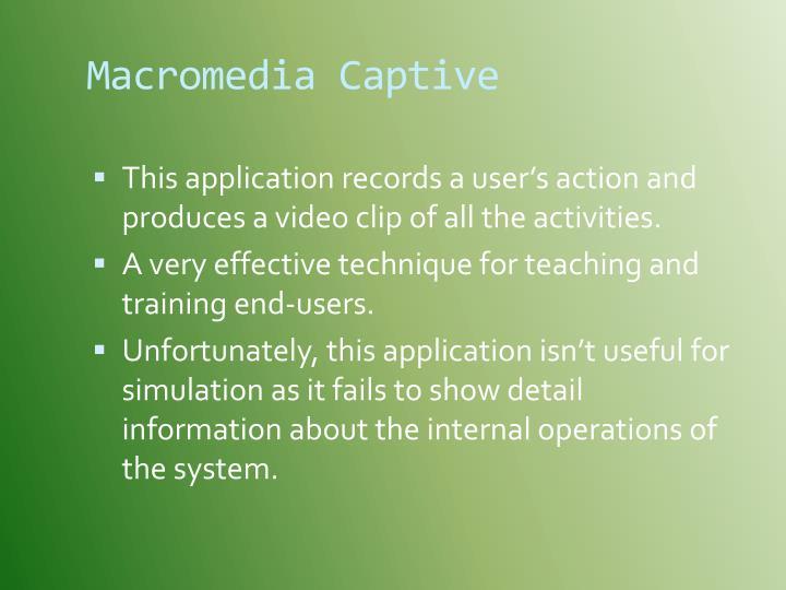 Macromedia Captive