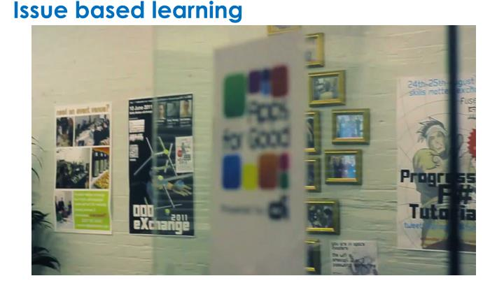 Issue based learning