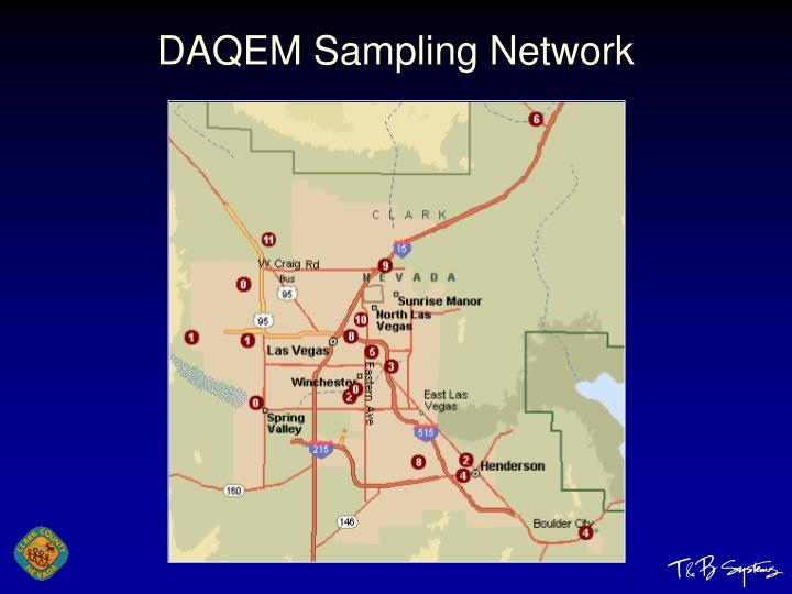 DAQEM Sampling Network