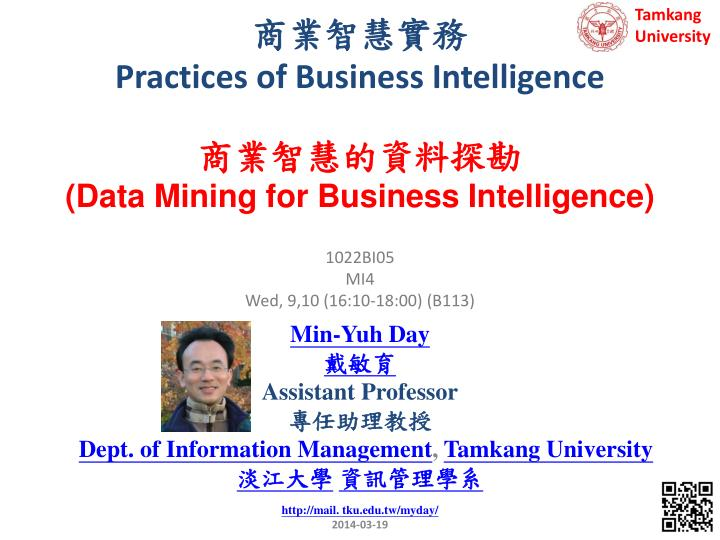 practices of business intelligence