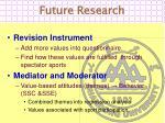 future research1