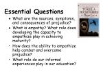 essential question s