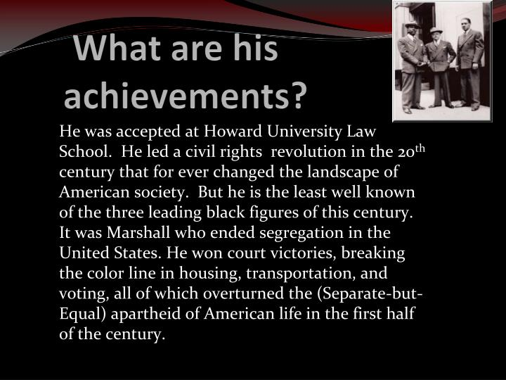 What are his achievements?