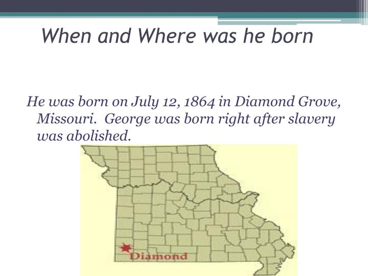 When and where was he born