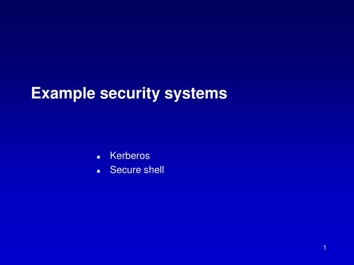 example security systems n.
