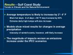 results gulf coast study trends in climate and the natural environment