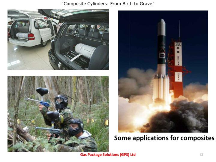 Some applications for composites