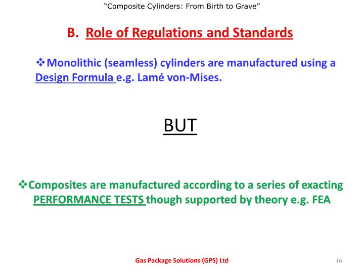 Monolithic (seamless) cylinders are manufactured using a