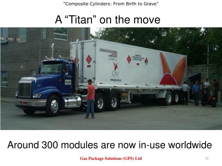 "A ""Titan"" on the move"