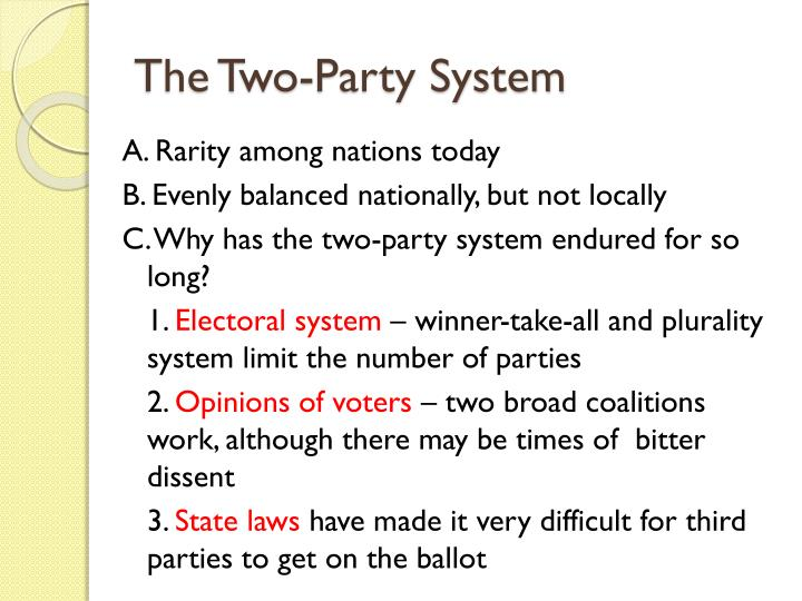 the two party system in australia Queensland election: another blow to australia's two-party system by mike head 27 november 2017 with thousands of votes still to be counted, the results of saturday's election in queensland remain unclear.