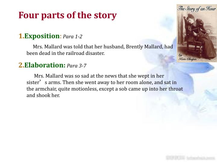 a review of mrs mallard in the story of an hour a short story by kate chopin