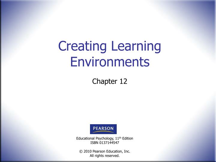 creating learning environments n.