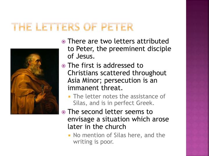 The Letters of Peter