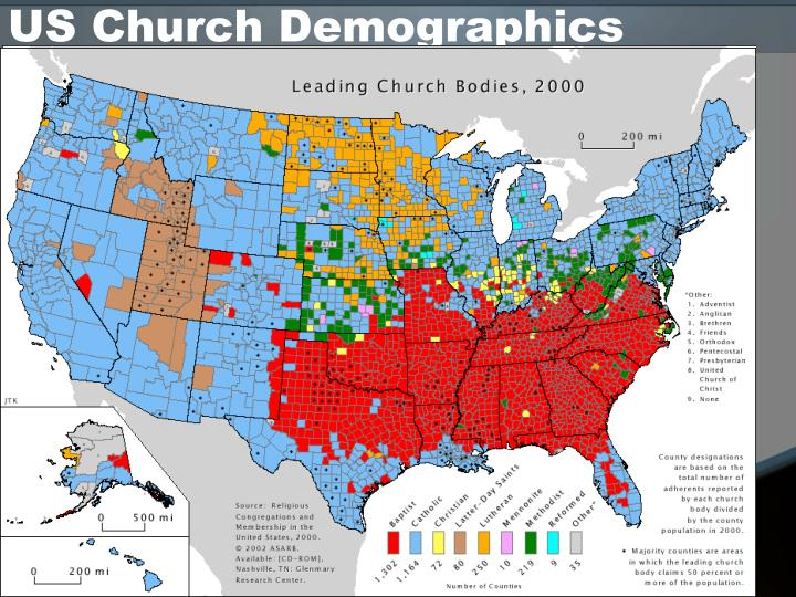 Us church demographics