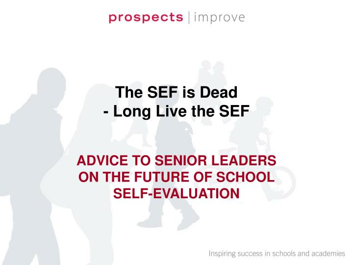 the sef is dead long live the sef n.