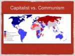 capitalist vs communism