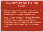 mccarthyism and the red scare1